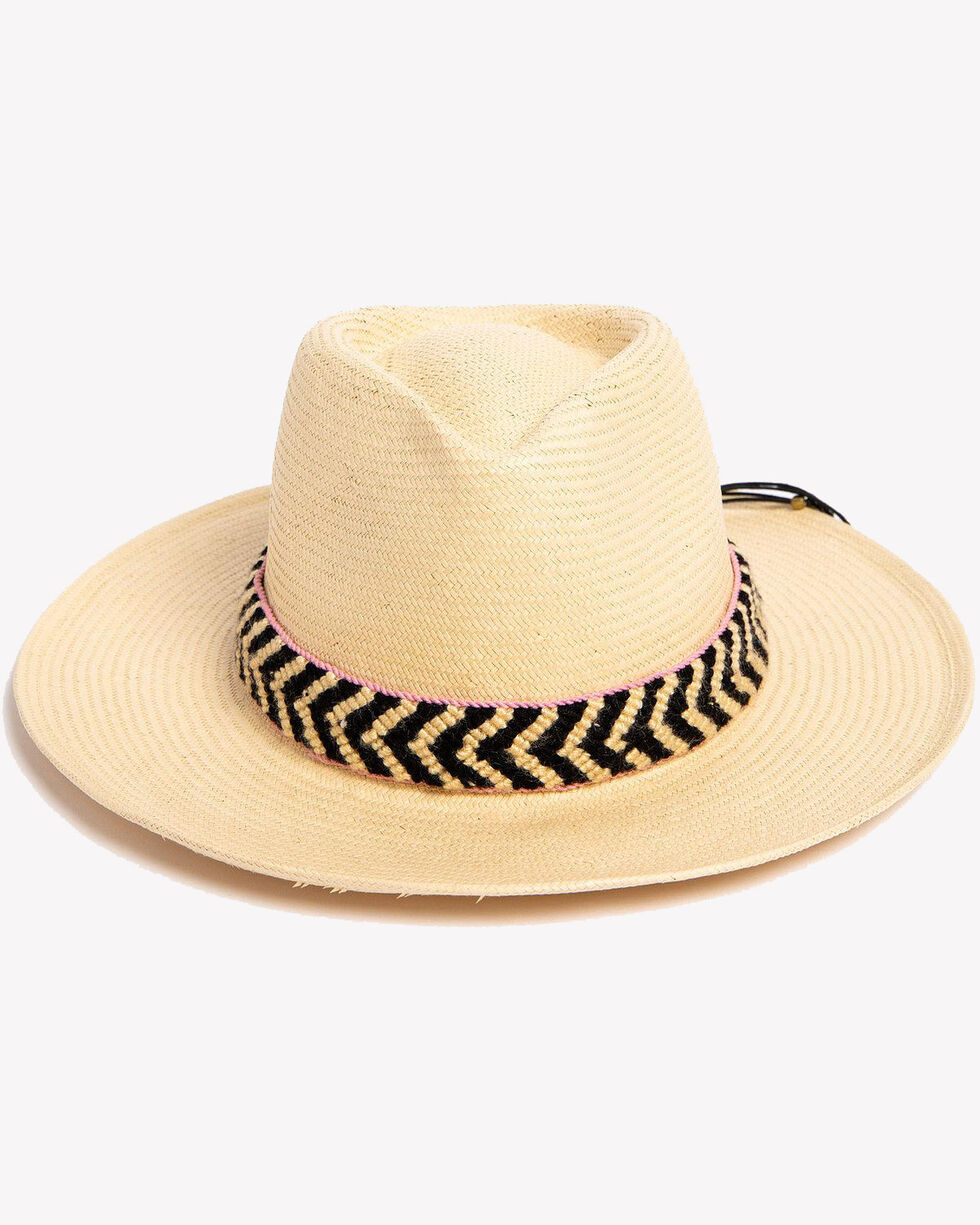 ále by Alessandra Women's Natural Cartagena Hat , Natural, hi-res