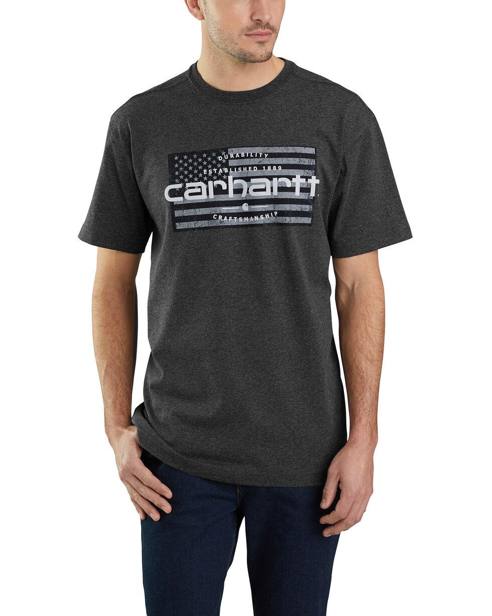 Carhartt Men's Craftsmanship Flag Graphic Work T-Shirt - Big, , hi-res