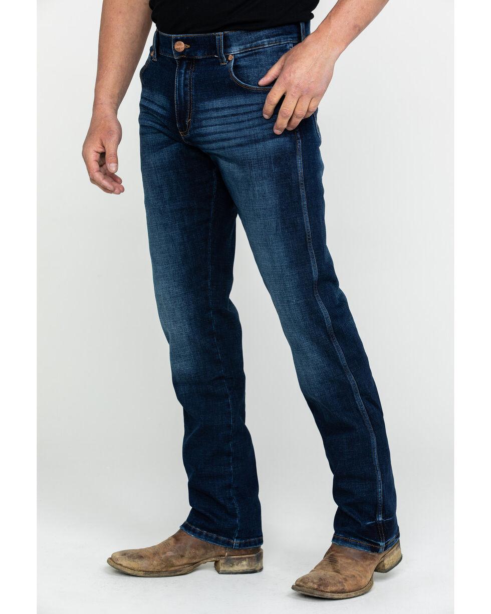 Wrangler Retro Men's Premium Slim Straight Jeans , Blue, hi-res