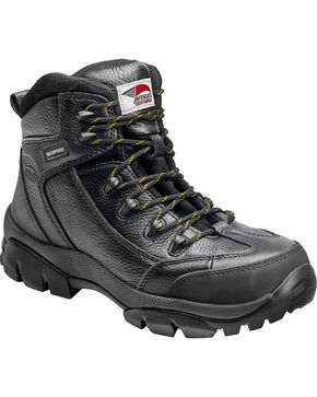Avenger Men's Composite Toe Lace Up Work Boots, Black, hi-res