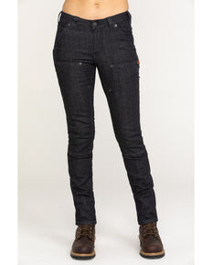 Dovetail Women's Maven Indigo Denim Slim Jeans , Black, hi-res