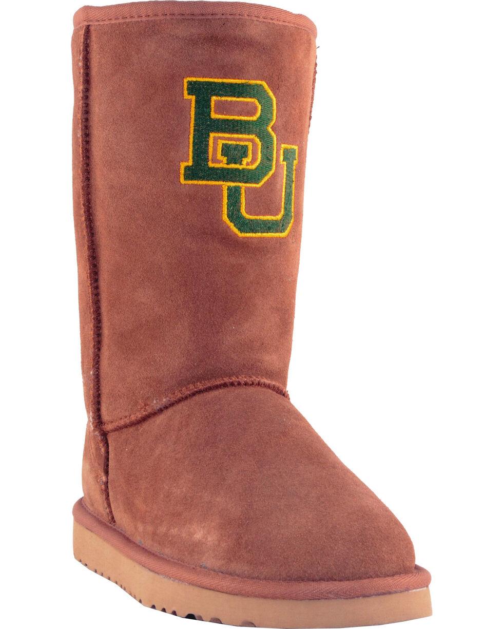 Gameday Boots Women's Baylor University Lambskin Boots, Tan, hi-res