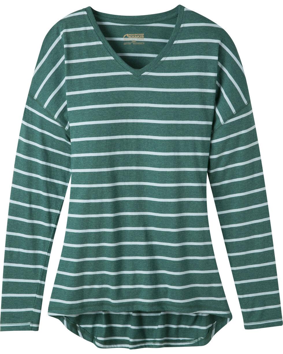 Mountain Khakis Women's Cora Long Sleeve Shirt, Green, hi-res