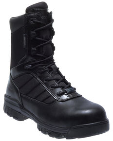 Bates Men's Tactical Sport Lace-Up Work Boots - Composite Toe, Black, hi-res