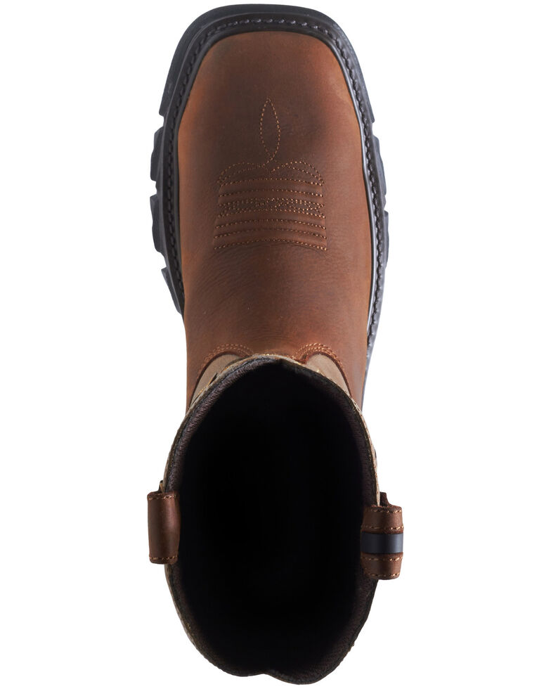 Wolverine Men's Brown Ranch King Carbonmax Western Work Boots - Composite Toe, Brown, hi-res