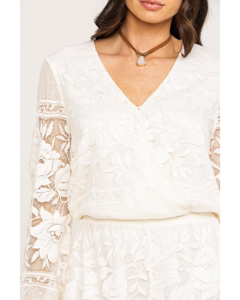Show Me Your Mumu Women's Loretta Moonlight Rose Lace Romper, , hi-res