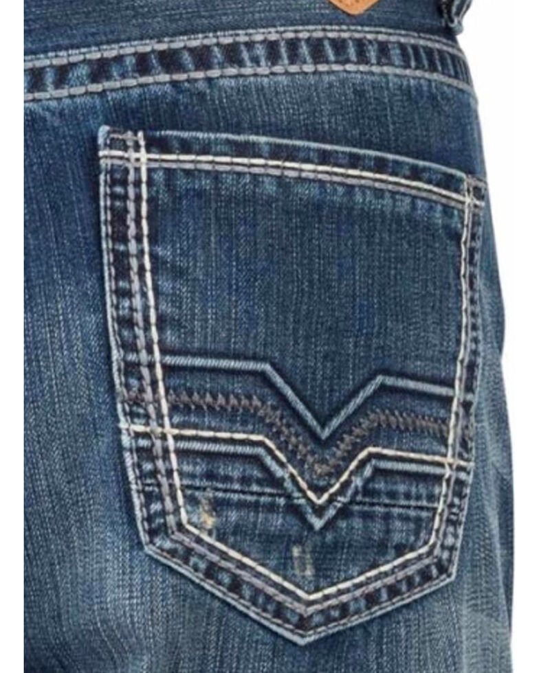 Tin Haul Men's Regular Joe Fit Bootcut Jeans, Indigo, hi-res