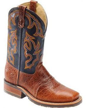 Double-H Men's ICE Roper Boots, Brandy, hi-res