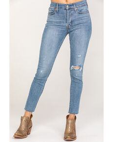 Levi's Women's Wedgie Skinny Jeans, Blue, hi-res