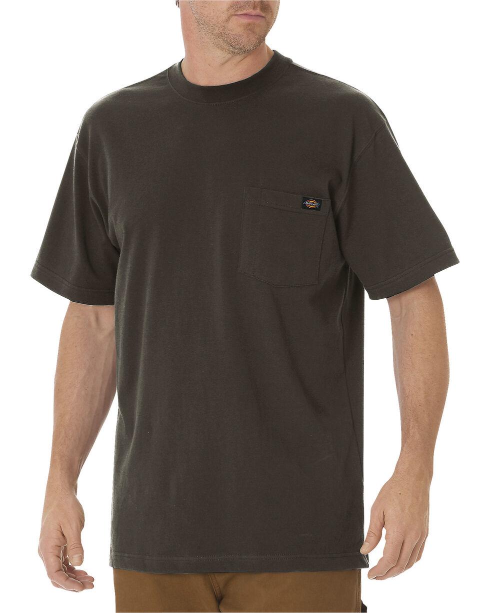 Dickies Men's Short Sleeve Heavyweight T-Shirt, Dk Olive, hi-res