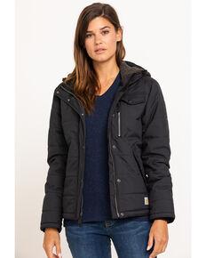 Carhartt Women's Black Utility Jacket , Black, hi-res