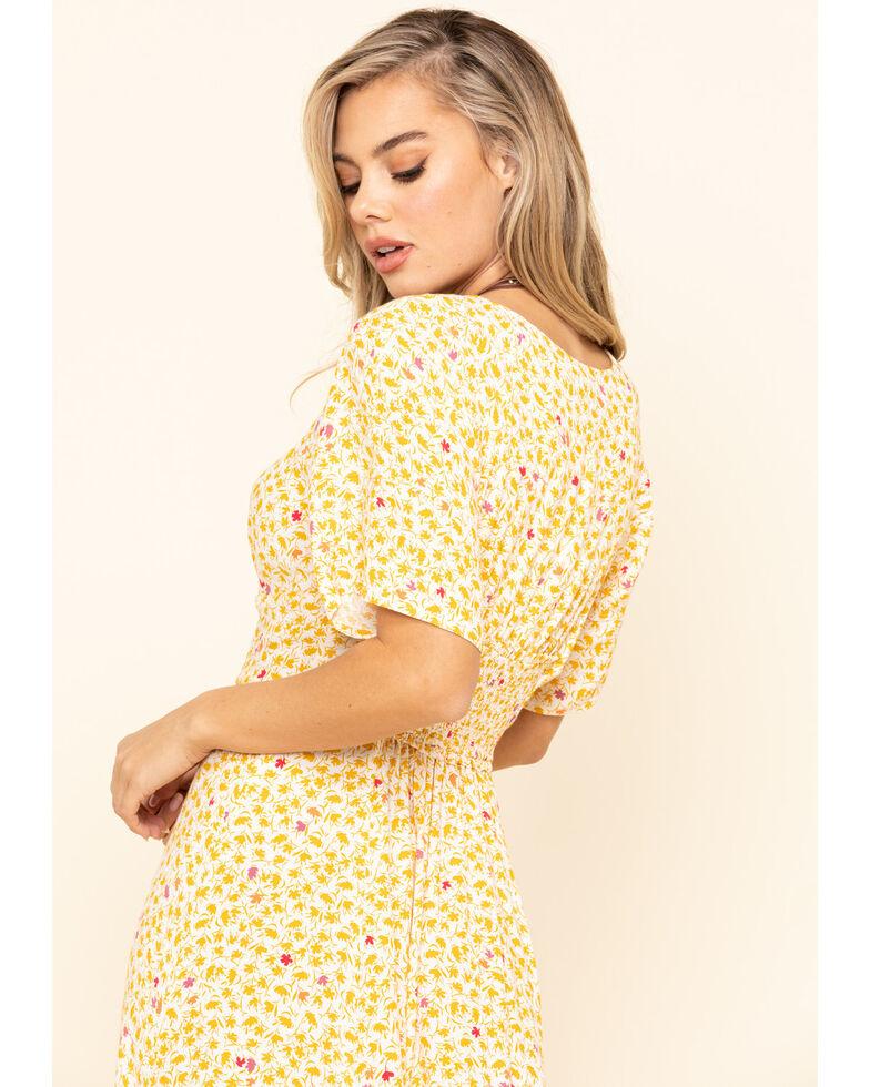 Free People Women's In Full Bloom Dress, Ivory, hi-res