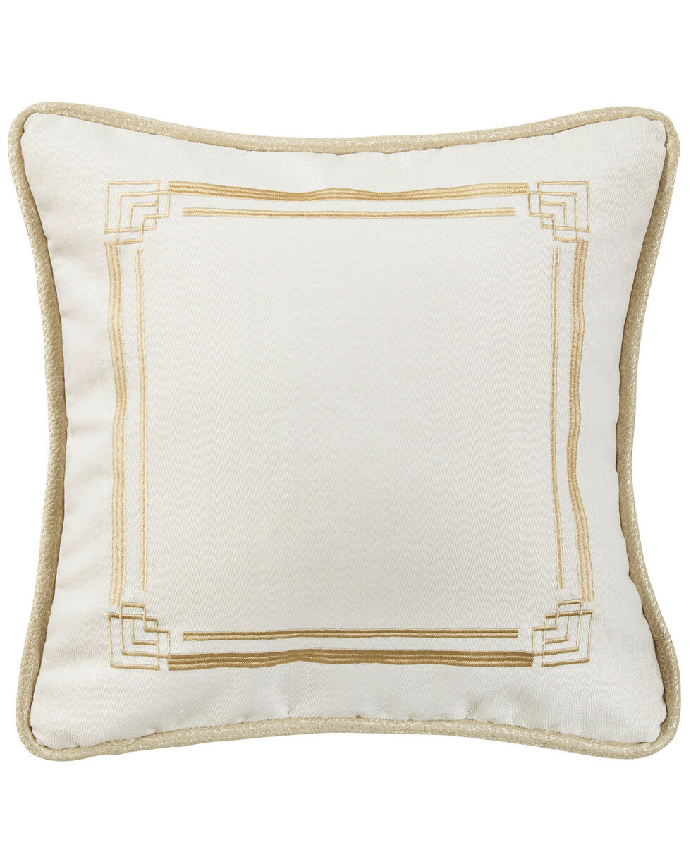 HiEnd Hollywood Embroidery Pillow , Cream, hi-res