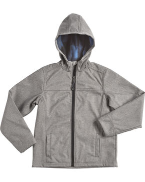 Cody James Boys' Sub Zero Bonded Jacket, Grey, hi-res