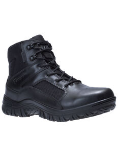 Bates Men's Maneuver Waterproof Work Boots - Soft Toe, Black, hi-res