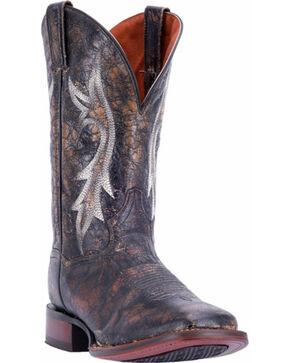 Dan Post Men's Junction Western Boots, Black, hi-res