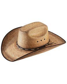 Resistol Men's Jason Aldean Amarillo Sky Palm Hat, Natural, hi-res