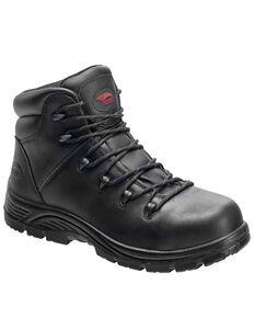 Avenger Men's Plain Waterproof Work Boots - Soft Toe, Black, hi-res