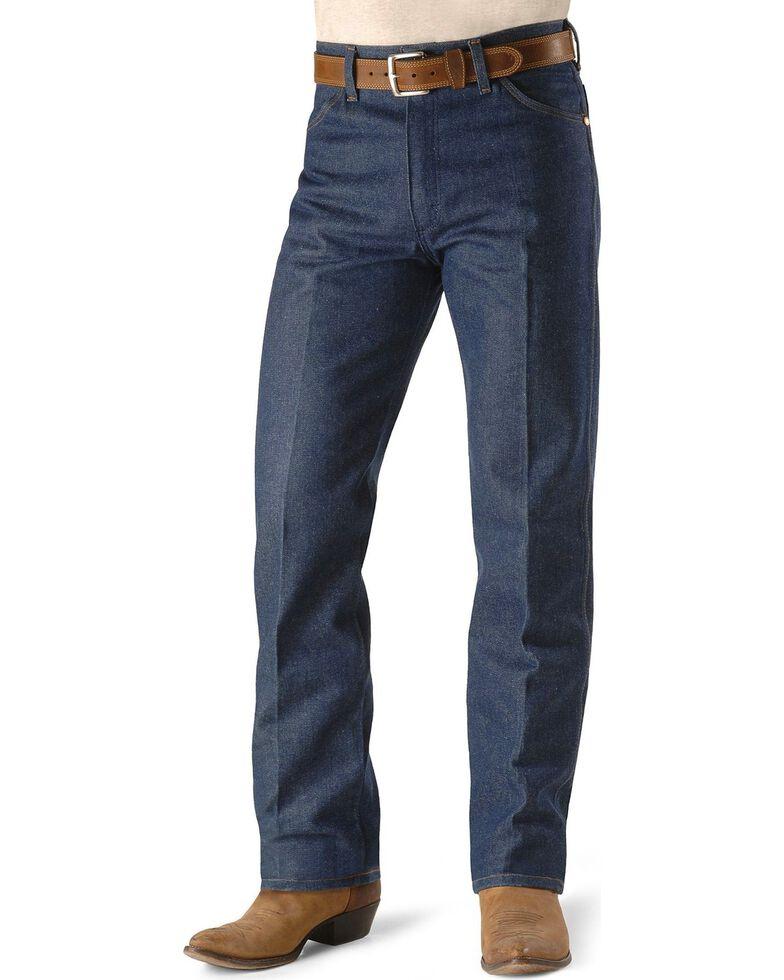 e2d184e4 Zoomed Image Wrangler Men's Original Fit Rigid Jeans - 38