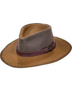 Outback Unisex UPF Oilskin Mesh Kodiak Hat, Tan, hi-res