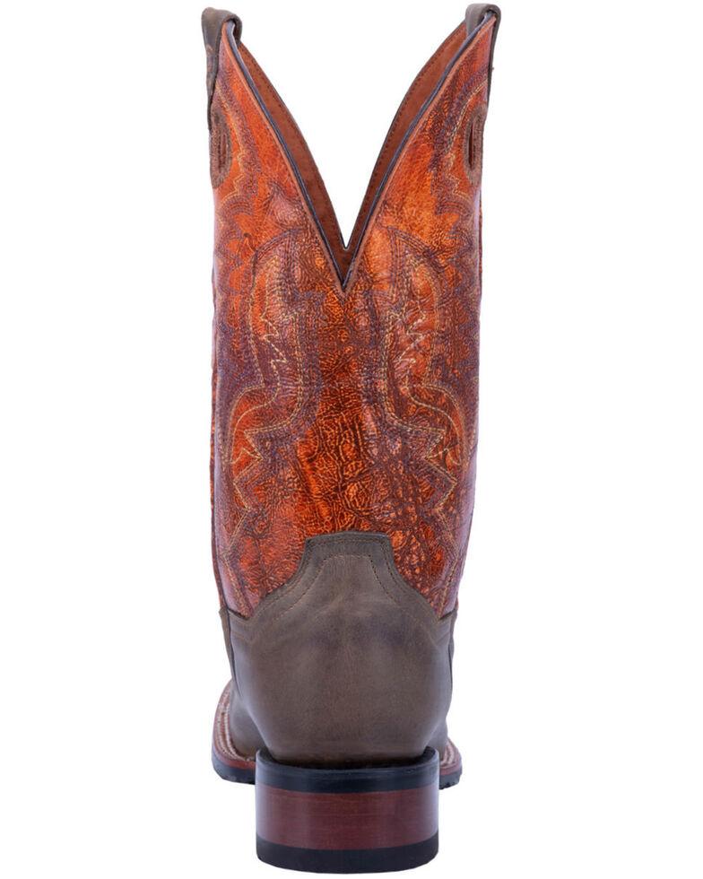 Dan Post Men's Deuce Western Boots - Wide Square Toe, Sand, hi-res