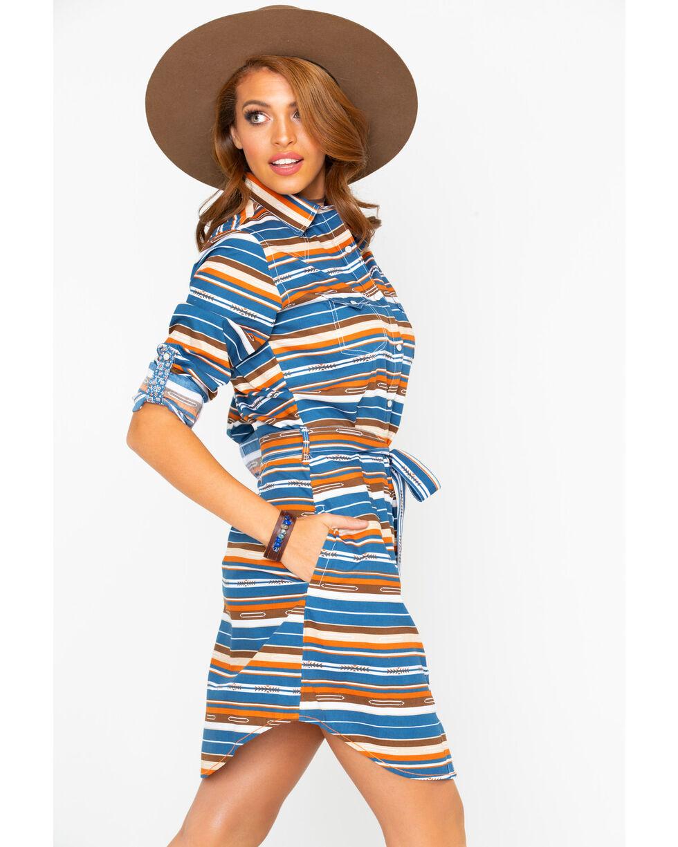 Panhandle Women's Chicon Aztec Print Dress, Multi, hi-res