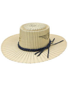 Charlie 1 Horse Women's Sunset Strip Western Fashion Straw Hat , Wheat, hi-res