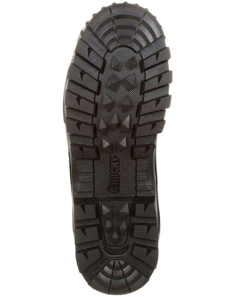Rocky Men's Sport Pro Rubber Waterproof Outdoor Boots - Round Toe, Camouflage, hi-res