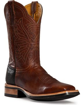 Cinch Men's Classic Goatskin Western Boots, Brown, hi-res