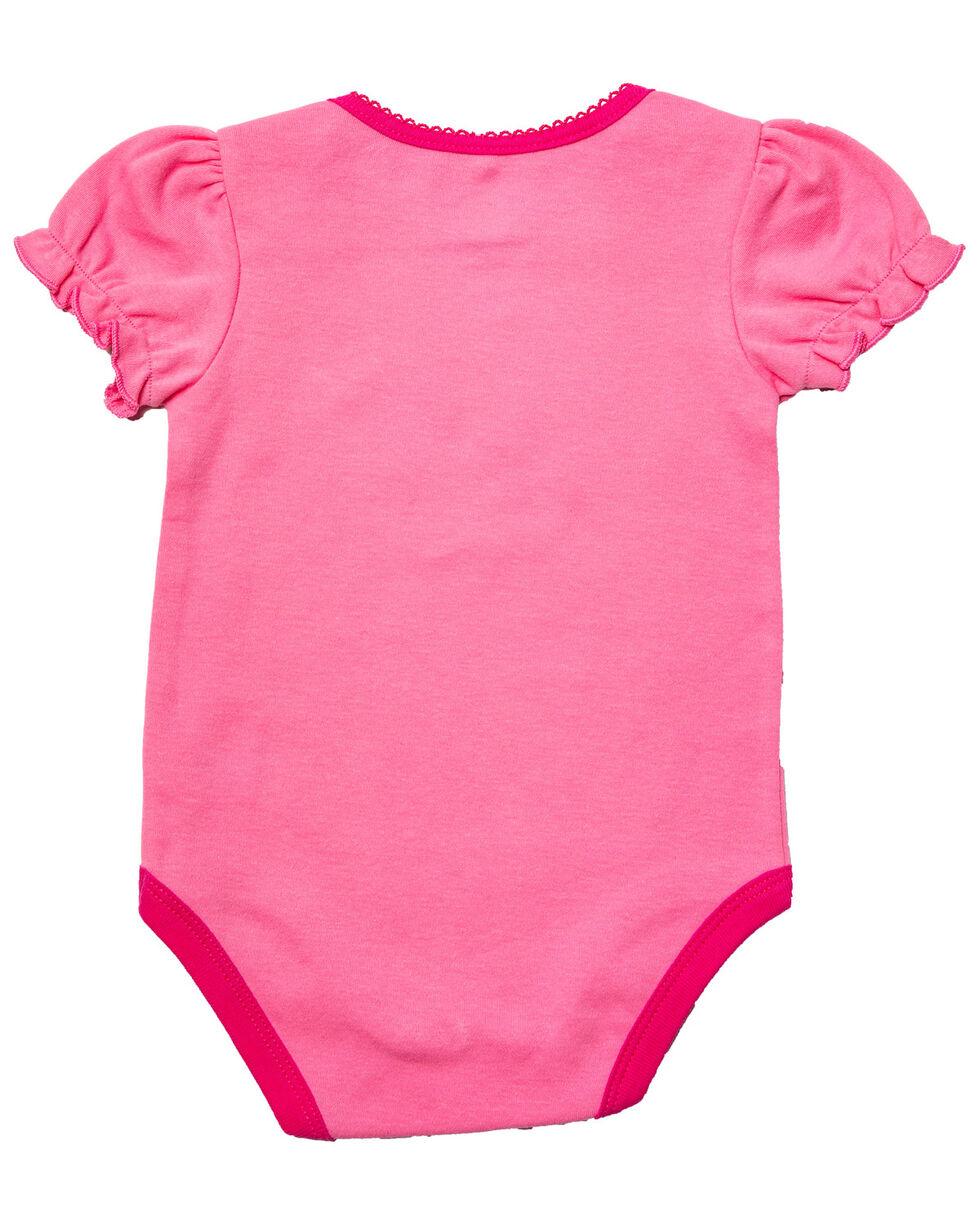 John Deere Infant Girls' Little Cowgirl Horse Graphic Body Shirt , Pink, hi-res