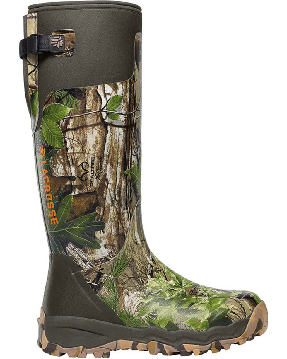 LaCrosse Men's Alphaburly Pro Realtree Xtra Hunting Boots, Camouflage, hi-res