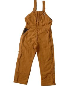 Dickies ® Sanded Duck Overalls - Big & Tall, Brown Duck, hi-res