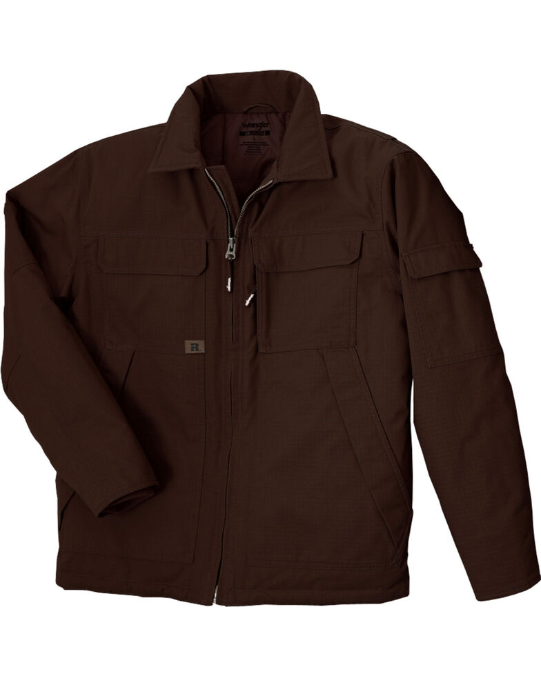Wrangler RIGGS Workwear Men's Ranger Jacket, Dark Brown, hi-res