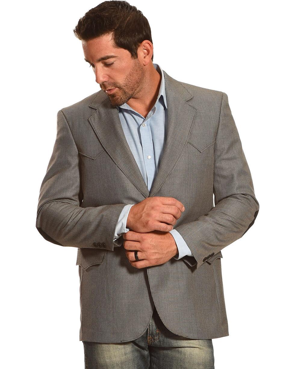 Circle S Men's Houston Elbow Patch Sport Coat - Big & Tall, Multi, hi-res
