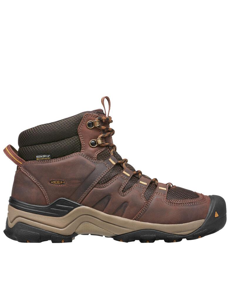 Keen Men's Brown Gypsum II Waterproof Hiking Boots - Soft Toe, Brown, hi-res