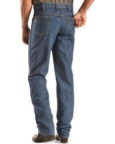 Cinch Men's Green Label Original Fit Stonewash Jeans, Dark Stone, hi-res