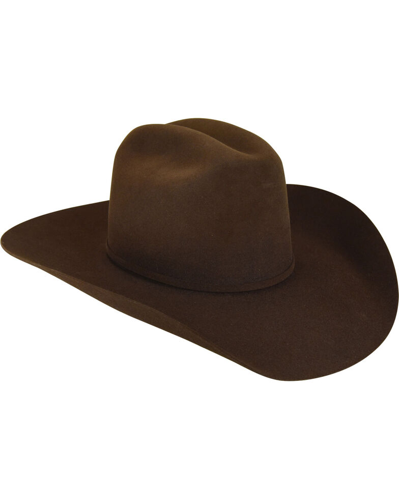 Bailey Men s Brown Pro 5X Wool Felt Cowboy Hat  09b22478054