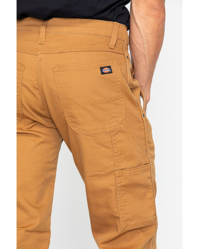 001b689d Zoomed Image Dickies Men's FLEX Tough Max Duck Carpenter Pants, Brown,  hi-res