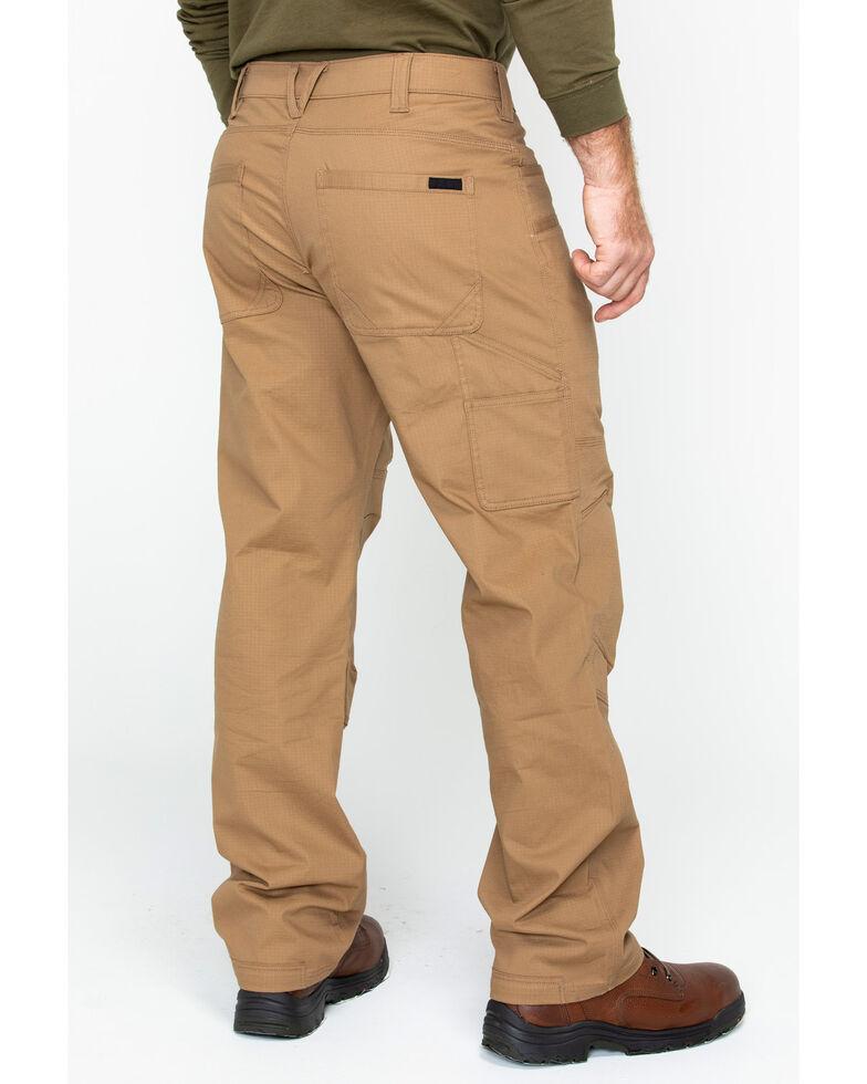 Hawx Men's Stretch Ripstop Utility Work Pants , Brown, hi-res
