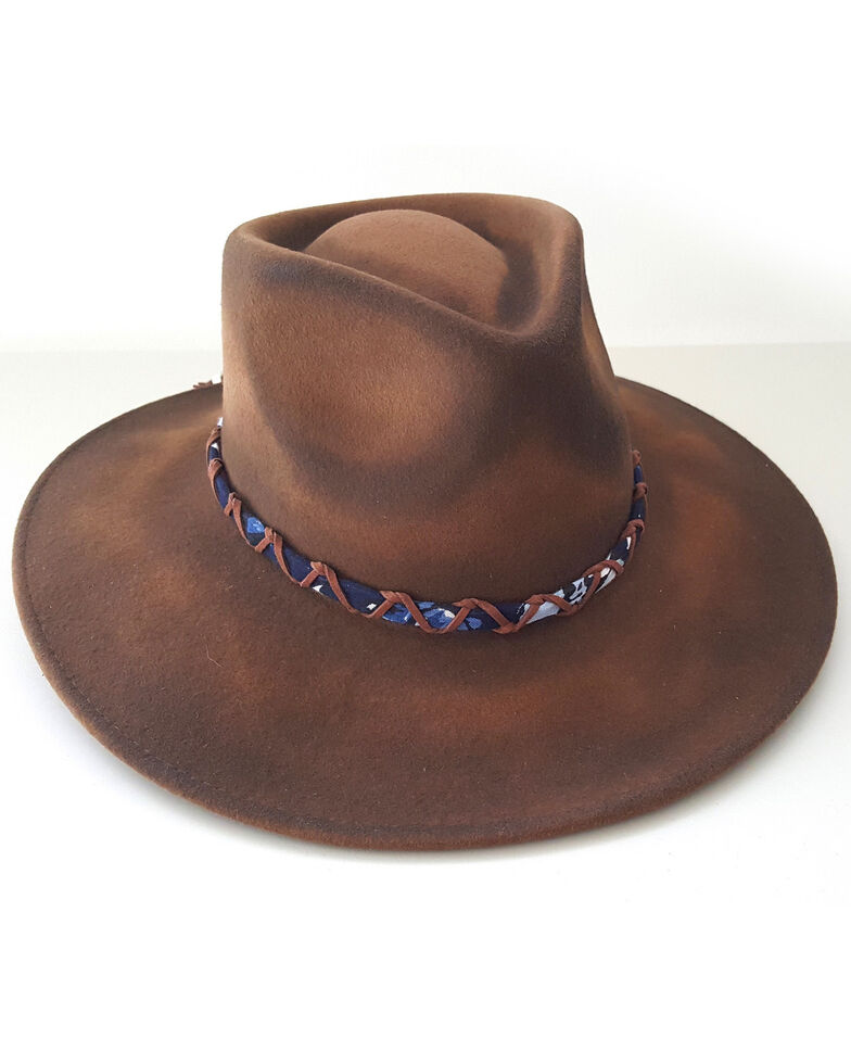 'ale by Alessandra Women's Timber Brown Hat, Brown, hi-res