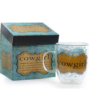 Evergreen Clear Cowgirl Mug, No Color, hi-res
