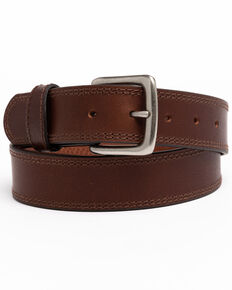 Hawx Men's Apache Triple Stitched Work Belt , Brown, hi-res
