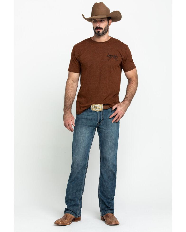 Cody James Men's Bozeman Stretch Slim Bootcut Jeans , Indigo, hi-res