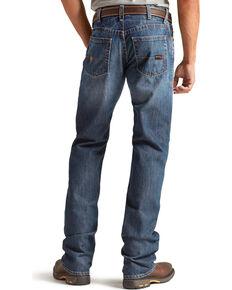 Ariat Men's M4 Flame Resistant Alloy Boot Cut Jeans - Big & Tall, Indigo, hi-res