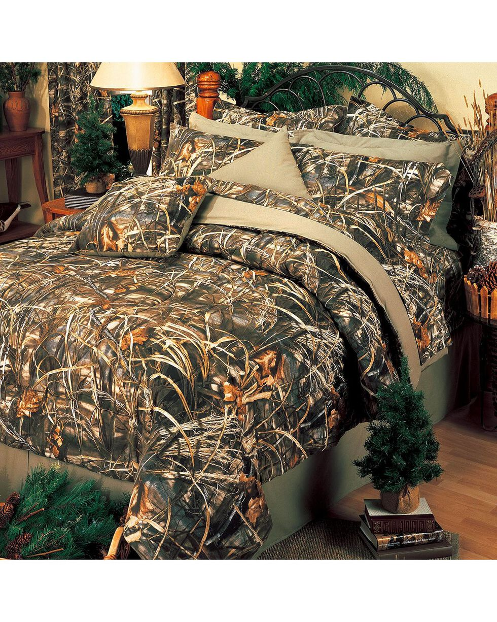 Realtree MAX-4 King Comforter Set, Camouflage, hi-res