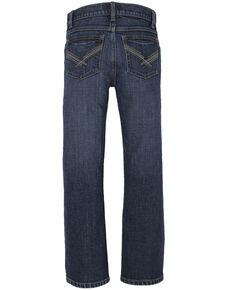 Wrangler 20X Boys' 8-20 No. 42 Roxton Vintage Slim Boot Jeans , Blue, hi-res