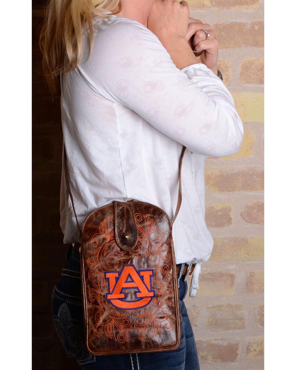 Gameday Boots Auburn University Crossbody Bag, Brass, hi-res
