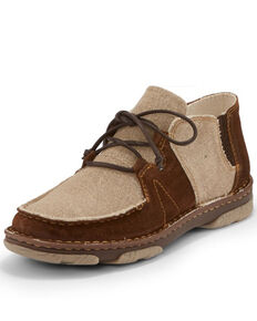 Tony Lama Men's Nudo Tan Shoes - Moc Toe, Tan, hi-res