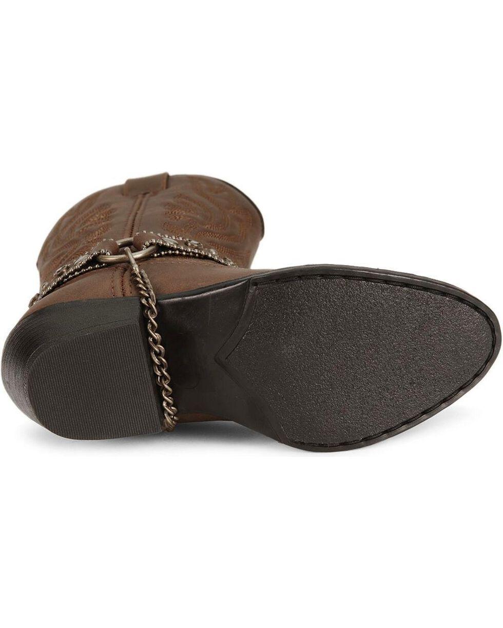 Smoky Mountain Girls' Charleston Cowboy Boots, Distressed, hi-res