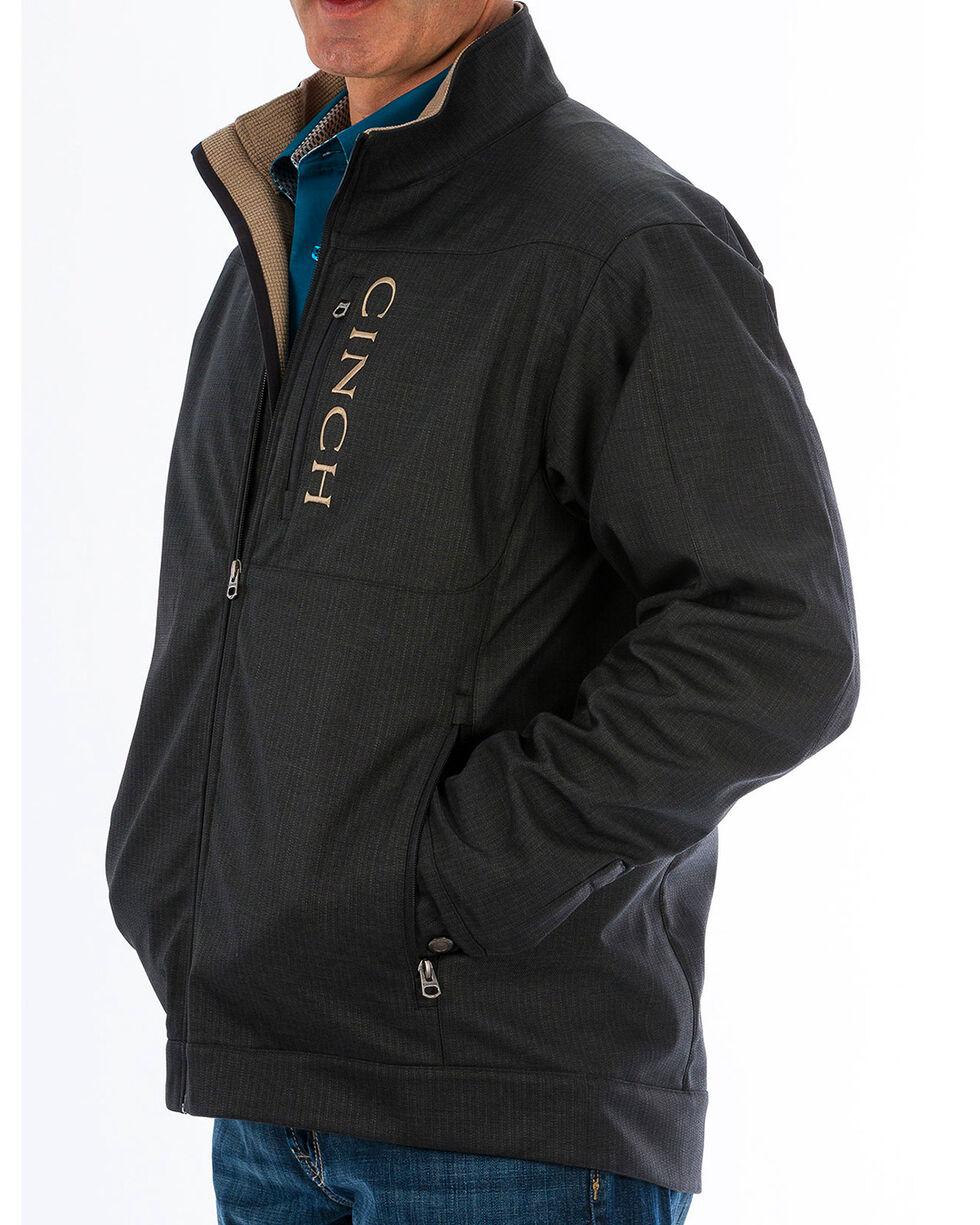 Cinch Men's Black Textured Bonded Concealed Carry Jacket - Big, Black, hi-res